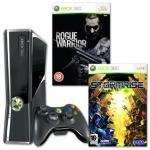 Xbox 360 250GB Slim Console + Rogue Warrior + Stormrise for £188.19 @ TJ Huges using voucher TJSAVE20 (Delivery Included)