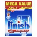 Finish Powerball All in 1 Tablets Lemon Sparkle 56pk £6 @ Asda