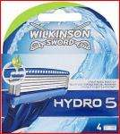 Save £ 5.30, Wilkinson Sword Hydro 5 Blades (4+4) total 8blades for £10.00 i.e. £1.25 each at TESCO  till 25 Jan
