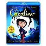 Coraline (2D/3D Version and 4x 3D Glasses) [Blu-ray] £9.49 @ Amazon