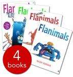 Flanimals Collection 4 Hardback Books by Ricky Gervais - £5 delivered @ The Book People