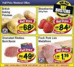 Lidl half price weekend offers - Sat 15th/ Sun 16th Jan