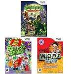 Margot's Word Brain,Jelly Belly: Ballistic Beans, Goosebumps Horrorland: Triple game pack [Wii] £10 Delivered @ ASDA