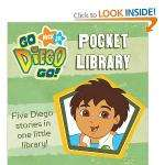 Go Diego Go pocket library 29p at Home Bargains