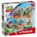 Jumbo Toy Story 4 Jigsaw Puzzles in a Box  now £3.99 delivered @ amazon