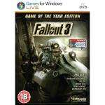Fallout 3 Game of the Year ( GOTY ) - PC DVD - Amazon £10.00 inc delivery