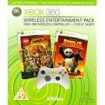 Wireless Entertainment Pack (includes Kung Fu Panda + Lego Indiana Jones + Wireless Controller) £19.98 @ Gamestation