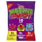 Monster Munch (10 pack) £1 @ Tesco