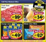 Lidl half price weekend offers - Saturday 22nd & Sunday 23rd