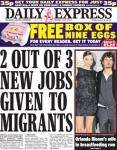 FREE Box of 9 eggs with Daily Express(45p)