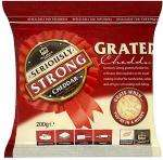 Seriously Strong Grated Cheddar (200g) £2.20 each OR 2 for £2 at Tesco