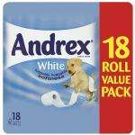 Andrex Toilet Tissue White & Cream 18 Rolls For £6.50 @ C0-0P