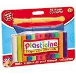 Neon Plasticine Sticks now £1 click n collect free @ john lewis