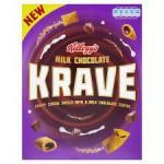 Kelloggs Krave/ Milk Chocolate 375G £2 @ Tesco & Sainsbury's