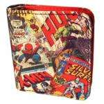 Marvel Comics Characters Zip Up Wallet / Coin Purse only £2.99 delivered @ Play