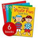 Nick Sharratt Activity Books Collection - 6 Books £4.00 delivered @ The Book People PLUS QUIDCO