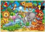 Orchard Toys Who's in the Jungle? Jigsaw Puzzle, Orchard Toys Who's On The Farm? Puzzle (25 Pieces) or Orchard Toys Farm Four in a Box £3.50 at Amazon