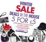 Claire's Acessories Sale 5 items for £5