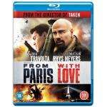 From Paris With Love Blu-Ray £8.00 @ Amazon