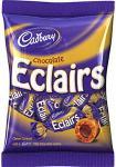 Cadbury Chocolate Eclairs (200g) was £1.48 now £1.00 @ Tesco & Asda