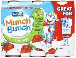 Munch Bunch Drinky + Strawberry (6 x 90g) was £1.50 now £1.00 @ Asda