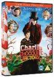 CHARLIE & THE CHOCOLATE FACTORY DELUXE EDTN (2005) DVD @ choices £2.19
