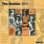 Official Beatles Grid Calendar 2011 £1.99 delivered @ Play
