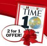 Time Magazine 2 for £29.99