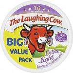 The Laughing Cow Extra Light Cheese Spread Triangles 16 pack 280g 99p In-Store @ Cooltrader