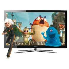 """Samsung PS50C490B3WXXU - 50"""" Widescreen HD Ready Plasma 3D 600Hz TV With Freeview Plus Free 3D Promo Kit - £699 *Delivered To Store* @ Tesco Direct"""