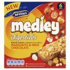 McVitie's Medley Digestive Hazelnut & Chocolate 6 x 30g was £1.75 now £1.00 @ Sainsburys