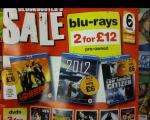 Pre-Owned Blu-Ray's 2 For £12 @ Blockbusters .