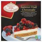Coppenrath Wiese Summer Fruit Cheesecake 500G 2 for 1 £2.00 @ Tesco