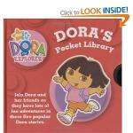 Dora's Little Library: WITH Dora's Opposites AND Count with Dora AND Dora Goes for a Ride AND Dora's Book of Words AND Dora at the Beach (Dora the Explorer) [Board book] £3.03 at Amazon