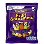 Rowntrees Fruit Screamers Lollies 15 pack 89p at Morrisons