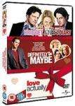 Love Actually / Definitely Maybe / Bridget Jones' Diary £5.19 delivered @ base.com