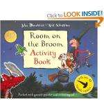 Room on the Broom Activity Book [Paperback] £1.99 DELIVERED @ amazon.co.uk