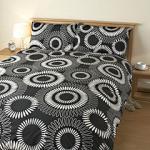 Tu Printed Black and White Bed Linen Set - Single £6.66 at Sainsburys