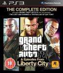 Grand Theft Auto IV The Complete Edition. PS3 £14.99 / PC £12.99, Back in Stock @ Gameplay