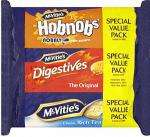 McVitie's Digestives, HobNobs & Rich Tea Triple Pack (750g) £1.29 at Lidl