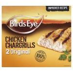 Birds Eye 2 Original Chicken Chargrills 184g & Birds Eye 2 Hot And Spicy Chicken 190g £1 at Tesco