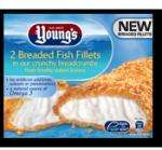 Youngs 2 Breaded Fish Fillets 300g : £1.50 (50% Off) @ Morrisons