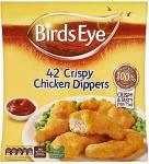 Birds Eye Crispy Chicken Dippers (42 per pack - 770g)  £3 @ Tesco