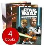 Star Wars Clone Wars Collection - 4 Books - £4.99 delivered at The Book People