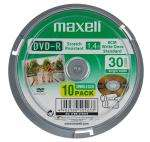 Maxell DvdR Camcorder 30 Minute 10 Pack Spindle £2.98 delivered @ Argos Outlet
