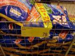 24 bag Multipack Variety Golden Wonder crisps 79p B&M