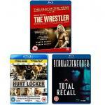 Triple Pack: Total Recall, Wrestler, Hurt Locker On Blu Ray - £14.97 Delivered @ Asda Direct