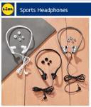 SilverCrest Sports Headphones £2.99 @Lidl
