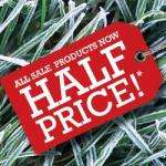 Cotswold Outdoors (limited) half-price sale