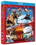 Cats And Dogs 1 & 2 Blu Ray Triple Play Edition - £8.99 Delivered @ HMV